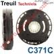 Treuil Technivis Débrayable Entrée Hexa 7 Femelle Sortie Carré 10 Femelle Avec FdC