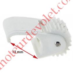 Galet Anti-Flexion à 2 Roulettes Clippable dans Coffres Chrono Vx et Vrx Soprofen Coloris Blanc