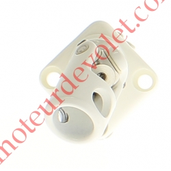Sortie Mini Bloc-Guide Angulaire Plat30x30 Genø12 Fem-Hex7 lg170