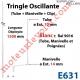 Tringle Oscillante Lg 1500 Blanche avec Manivelle