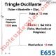 Tringle Oscillante Lg 1900 Blanche avec  Manivelle
