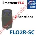 Emetteur Flor-sc 2 Fonctions 433,92MHz Rolling Code Numérotés