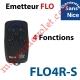 Emetteur Flor-s 4 Fonctions 433,92MHz Rolling Code