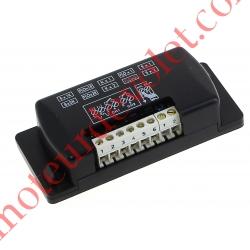 Récepteur Mini 12-24 v ca/cc 2 canaux 433,92MHz Combinaison Fixe à Switchs