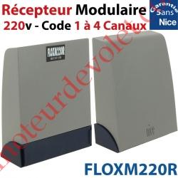 Récepteur Modulaire 220 v ca 433,92MHz Rolling Code 1 à 4 canaux