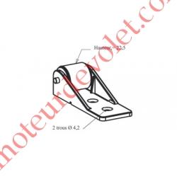 Galet Anti-Flexion ø 18 mm à Encombrement Réduit pour Petit Coffre