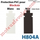 Protection pour Verrou Automatique Blocksûr en Pvc Noir