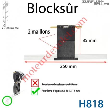 Verrou Automatique Blocksûr de 2 Maillons pour Lame 13-14 mm d'épaisseur