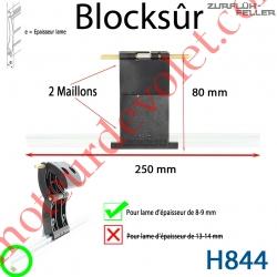 Verrou Automatique Blocksûr de 2 Maillons pour Lame 8-9 mm d'épaisseur