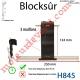 Verrou Automatique Blocksûr de 3 Maillons pour Lame 8-9 mm d'épaisseur