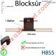 Verrou Automatique Blocksûr de 1 Maillon pour Lame 8-9 mm d'épaisseur