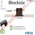 Verrou Automatique Blocksûr de 1 Maillon pour Lame 13-14 mm d'épaisseur