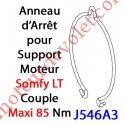 Anneau d'Arrêt Simple en Inox pour support LT 50 & 60