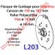 Flasque Fixe  pour Polyréno 150 & 165