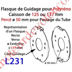 Flasque Fixe  pour Polyréno 125 & 137