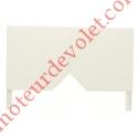 Console Aluréno 180 à Pan Coupé à 45° Laquée Blanc (BJ31) ± Ral 9016 (Paire)