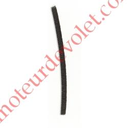 Joint Brosse Noir Talon 4,8 mm x Ht Totale 6,75 mm (mètre linéaire)