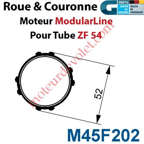 Jeu d'Adaptation pour Moteur M45 au Tube Zf 54