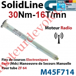 Moteur Geiger Radio SolidLine 30/16 Av FdC Electroniques & Récepteur Radio Ss Mds p Tube Zf64