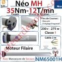 Moteur Nice Filaire Néo MH 35/12 MH Avec Mds
