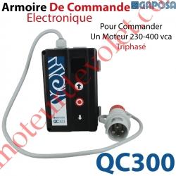 Armoire de Commande Electronique Avec Boutons de Commande pour Commander 1 moteur 230-400 vca Triphasé