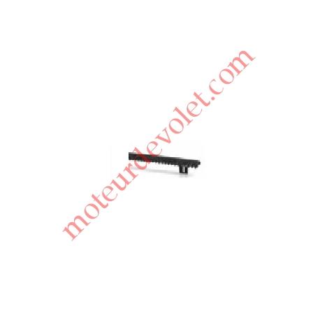 Crémaillère 25x20 M4 Nylon Armé pour portail coulissant, le ml