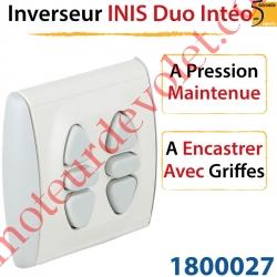 Inverseur Inis Duo Intéo à Encastrer avec Griffes à Pression Maintenue