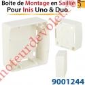 Boîtier de Montage en Saillie de 30 mm Coloris Blanc pour Inis Uno & Duo