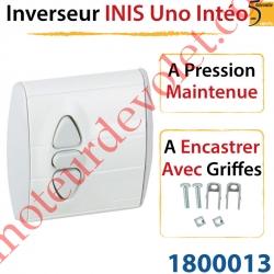 Inverseur Inis Uno Intéo à Encastrer avec Griffes à Pression Maintenue