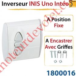 Inverseur Inis Uno Intéo à Encastrer avec Griffes à Position Fixe