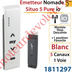 Emetteur Nomade Situo 5 Pure io 5 Canaux 1 Voie