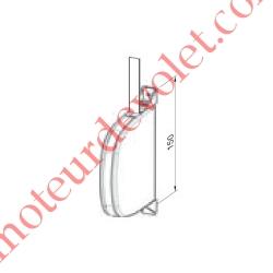 Enrouleur Pivotant de Sangle Swing Blanc Largeur 14 mm Longueur 5 m