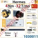Moteur Somfy Hermes Vitesse Rapide 4/32 LT 50