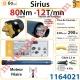 Moteur Somfy Sirius 80/12 LT 60