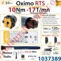 Moteur Somfy Oximo Rts 10/17 LT 50
