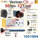 Moteur Somfy Vectran Csi 50/12 LT 50  Avec Mds