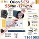 Moteur Somfy Orion S Csi 55/17 LT 60  Avec Mds