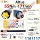Moteur Somfy Altus Rts 55/17 LT 60
