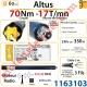 Moteur Somfy Altus Rts 70/17 LT 60