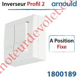 Inverseur Arnould Profil 2 Blanc à Position Fixe