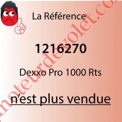 Dexxo Pro 1000 Rts Tête Moteur 90 000 Cycles Force 110 Kg avec 2 émetteurs KeyGo Rts 4 Canaux