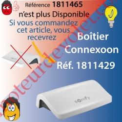 Boîtier Connexoon Somfy io à Connecter à Internet Avec 2 Applications au choix remplacé par la Réf 1811429