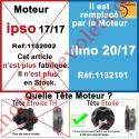 Moteur Somfy Ipso 17/17 LT 50