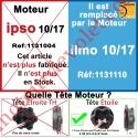 Moteur Somfy Ipso 10/17 LT 50