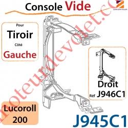 Console Vide pour Tiroir  Côté Gauche pour Lucoroll 200
