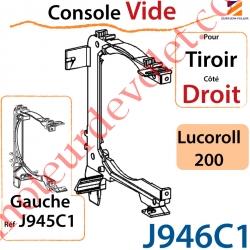 Console Vide pour Tiroir Côté Droit pour Lucoroll 200