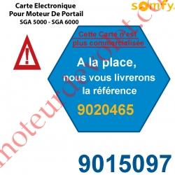 Carte Electronique Bus Rts pour Moteur de Portail Ouvrant à la Française Somfy SGA 5000 ou SGA 6000 (Remplacé par la REF 902046
